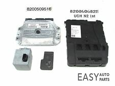 RENAULT MEGANE - SCENIC  03-08 1.6  ECU UCH BCM STEERING LOCK SET KIT REF-(HHO)