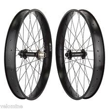 Fat Bike Wheelset 190mm R 150mm F 10 Speed 65mm Rims 26x4.0 double Wall rims