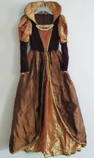 Renaissance Medieval Victorian Queen Dress Gown Halloween Costume Size 10/12