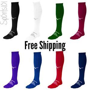 2 pairs of Mizuno Performance OTC Sock Softball Baseball Volleyball 370230