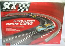 Scalextric B10122X100 N Gauge Building Kit Super Chicane Curve Slide Complete