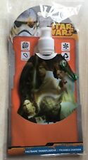 BNIP New Star Wars Foldable Canteen Water Bottle - Yoda Luke Hans Solo Leia