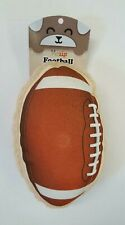 "2-Sided Football/Touchdown Squeaking Dog Toy ~ Big Tough Toy 4"" x 7"" x 10"""