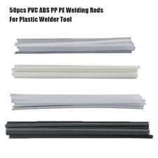 50pcs baguettes de soudage ABS/PP/PVC/PE pour outil de soudeuse en plastique