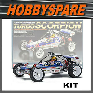 NEW KYOSHO 1/10 TURBO SCORPION RC BUGGY KIT 2WD OFFROAD EP 80s RETRO 30616