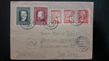 AUSTRIA cover Graz to Neusalza Spremberg russian russische Zone 1948 post WWII