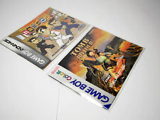 100 protection coque Game Boy instructions GameBoy Classic GBA COLOR Manual sleeves