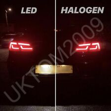 2X VW PASSAT CC REPLACEMENT REAR NUMBER PLATE LED UNITS CANBUS ERROR FREE