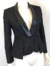 Vince Camuto Women's Faux Leather Trim Blazer - Size 2P - $199 - *C523