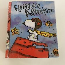Snoopy Peanuts Tin WWI Flying Ace Fighter Pilot Tin Book Box NOS