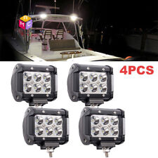 4pc 12V Spot LED Oblong Courtesy Light Yacht Marine Boat Stair Deck Garden Lamp