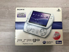 PSP Go White 16GB Boxed With Games