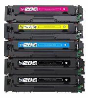 5Pk 304A CC530A Toner Cartridge For HP Laserjet CP2025n CM2320n CP2025dn