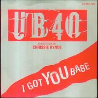 "7"" UB 40/I Got You Babe (With Chrissie Hynde) D"