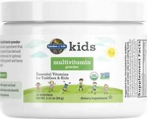 Kids Organic Multivitamin Powder by Garden of Life, 30 servings