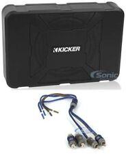 "KICKER 11HS8 8"" 150W Car Audio Powered Subwoofer Enclosure + Kicker KISL Adapter"