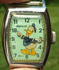Vintage Ingersoll US Time Donald Duck Watch