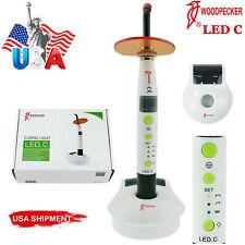 Original Woodpecker Dental Curing Light Wireless Led Cure Lamp Led C Type