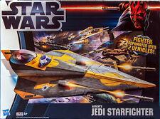 Hasbro Star Wars Clone Wars 2012 ANAKIN'S JEDI STARFIGHTER Vehicle HARD TO FIND!