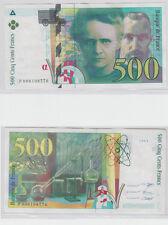 Gertbrolen   500 FRANCS ( Pierre & Marie CURIE ) de 1994 Billet P008108776