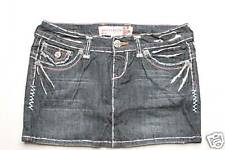 Laguna Beach Jean Long Beach Lt Blue Stitch Skirt 25