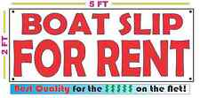 BOAT SLIP FOR RENT All Weather Banner Sign NEW High Quality! XXL Lake Dock
