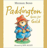 Paddington - Paddington Goes for Gold by Michael Bond, Good Used Book (Paperback