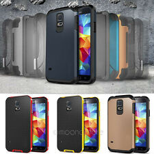 For Samsung Galaxy S5 i9600 2 In 1 TPU+PC Armor Bumblebee red  Hybrid Thin Case