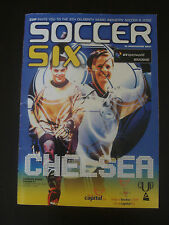 Soccer Six 8th Celebrity Music Industry Tournament Programme 2002 & ticket stub