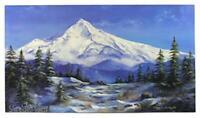 "Mount Hood Reflected In Mirror Lake Oregon 8.5x11/"" Photo Print Mountain in Water"