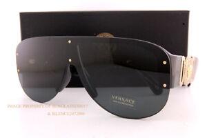New VERSACE Sunglasses VE 4391 GB1/87 Black/Dark Grey For Men