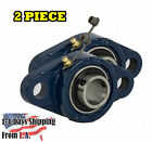 "UCFL204-12 Pillow Block Flange Bearing 3/4"" Bore 2 Bolt Solid Base (2PCS)"
