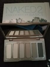Urban Decay NAKED2 BASICS Eyeshadow Palette AUTHENTIC New in Box