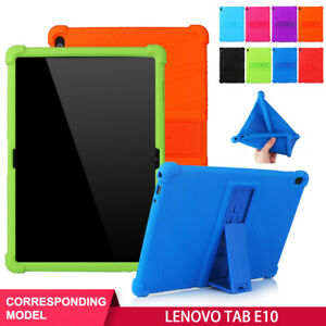 Shockproof Case For Lenovo Tab E10 TB-X104F/L Tablet 10.1'' Silicone Stand Cover
