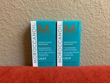 Moroccan Oil Treatment For Fine or Light Colored Hair 0.85 Fl OZ Pack Of 2