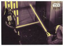 2018 Star Wars A New Hope Black and White Purple 110 Obi-Wan Kenobi Vader 08/25