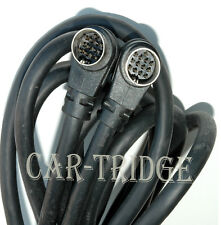 Genuine Clarion Saab C Bus Cd Changer Data Cable Wire Harness 13 Pin Din Cord