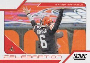 2021 Panini Score NFL Football CELEBRATION Inserts ~ Pick Your Cards