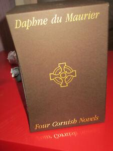 Folio Society Daphne du Maurier 4 Novels box set lovely condition