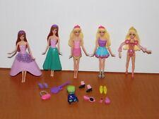 "Lot BARBIE The PRINCESS & POPSTAR 4"" Mini Doll Toy Figures Keira Tori Clothes+"