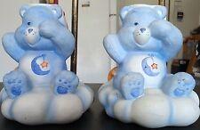 3 Vintage 1983 Care Bears Lamps American Greetings Bedtime Bear Night Light