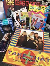 Take That Fan Bundle 90s Boyband Board Game Annuals Alarm Clock Action Replay