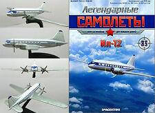 USSR IL 12 (NATO reporting name Coach) cargo aircraft + Magazine