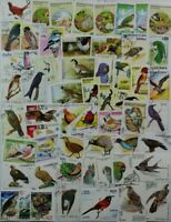 BIRDS nice collection of 300 different stamps from around the world (lot#DP)