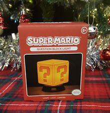 Super Mario Question Block Light Nintendo
