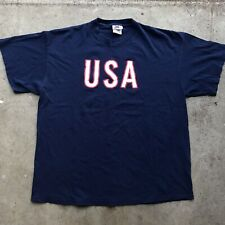 Vintage Nike 1996 Olympics Team USA Swoosh Tee Shirt XL