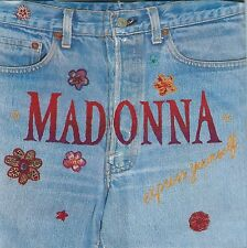 RARE EO 45 TOURS LIMITÉ COLLECTOR MADONNA EXPRESS YOURSELF POCHETTE AVEC ZIP
