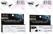 Ardell LASHTITE INDIVIDUAL LashGrip False Eyelash Adhesive Glue CLEAR or DARK