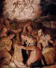 Metal Sign Giorgio Vasari Vasari Giorgio The Nativity With The Adoration Of The