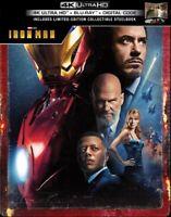 Iron Man SteelBook Sets (4K UHD + Blu-ray + Digital HD) New